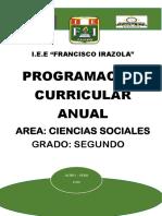 Programa Curricular 2019
