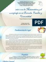 Proyecto Matemática y Lenguaje