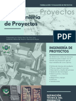 3.4 Ingeniería de Proyectos