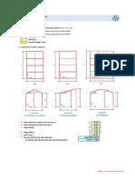 Perhitungan Beban Angin (SNI 03-1727-2013)