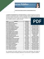 2015 CM PALHOCA Memorando Recursos Homologacao