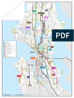 Seattle Transportation Impact Fee Proposal - Map of Eligible Projects