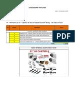 Modelo de cotización de cámaras de seguridad