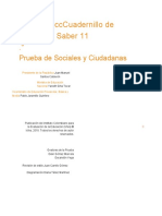 Cuadernillo de Preguntas Saber 11- Sociales y Ciudadanas