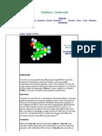 Celebrex Molecular Structure -- Celecoxib Molecule - World of Molecules