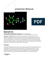 Epinephrine Molecule - World of Molecules