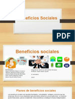Exposicion beneficios sociales