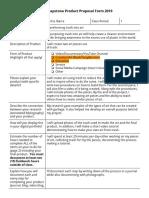 carlos ibarra - cunningham senior capstone product proposal