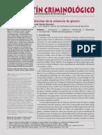 Gavis Doménech, María José y Garrido Genovés, Vicente-Menores, Víctimas Directas de La Violencia de Género