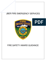 Fire Safety Award