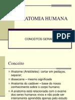 Anatomia Humana - Conceitos Gerais