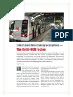 India's Best-functioning Ecosystem — the Delhi-NCR Region