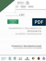 Diagnóstico y Tratamiento de EPIDIDIMITIS en niños y adolescentes