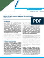 Wilches, Julián-UNASUR y La Visión Regional de Las Drogas