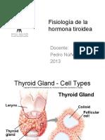 Fisiología de La Hormona Tiroidea [Modo de Compatibilidad] [Reparado]