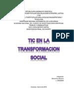 Tic en La Transformacion Social