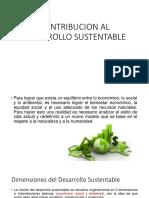 Contribucion Al Desarrollo Sustentable