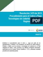Presentacion Resolucion 1479 de 2015