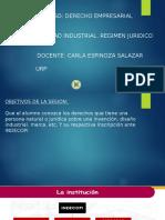 Propiedad Industrial. Regimen Juridico