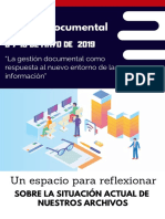 Congreso Gestión Documental 2019