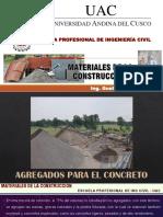 i - 3 Clase - Agregados Para El Concreto