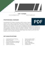turner timothy resumecontact