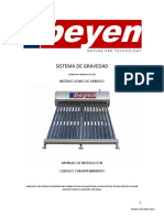 Claentador Solar Beyen - Manual