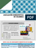 Legalizacion Homeopatica en Colombia