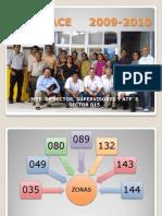 ENLACE     2009-2010 por nivel de marginación