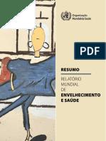 2015 - Relatório Mundial Saude e Envelhecimento