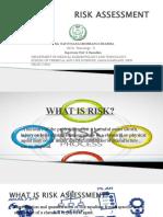 Presentation on risk assessment and management