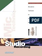 mic techniques shure.pdf