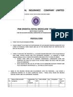 PNB Royal Mediclaim