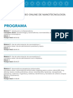 Programa de Nanomedicinas