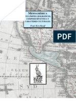 Paul Kirchhoff - Mesoamérica, sus límites geográficos, composición étnica y caracteres culturales