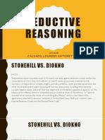 Calsado Deductive Reasoning