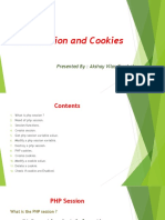 PHP Session and Cookies