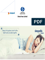 Company Presentation SheelaFoam