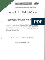 CAS Nº 29 _ Gestor Curricular de Educación Primaria