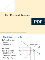 Cost of Taxation