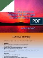 Upravljanje Sustavom Zagrijavanja Tople Vode Solarnom Energijom - Boris Rogić