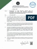 Circular Letter No. 2017 - 8