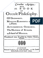 Henry Cornelius Agrippa His Fourth Book of Occult Philosophy.pdf