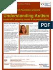 Understanding Autism Workshop Flyer