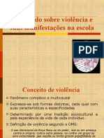 REFLETINDO SOBRE VIOLÊNCIA E SUAS MANIFESTAÇÕES NA ESCOLA (1)