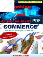 Banking & Finacial Institution UGC NET - COMMERCE