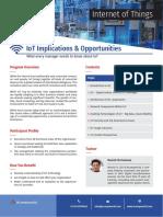 Internet of Things (IoT) Training