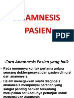 Power Point Anamnesis Pasien RS Citama