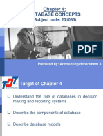 Chapter 4 - Database Concepts