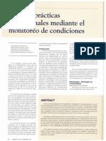 Mtto - Monitoreo de Condiciones 2016
